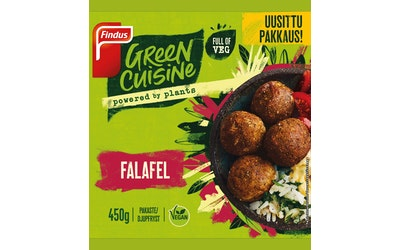 Findus Green Cuisine falafel 450g pakaste