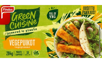 Findus Green Cuisine vegepuikot 284g pakaste