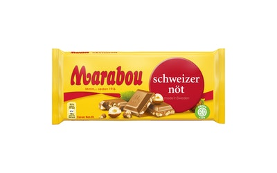 Marabou Schweizer nöt 200g