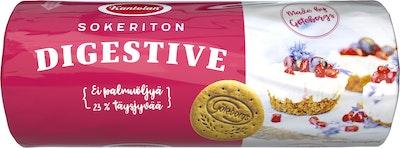 Kantolan Digestive sokeriton keksi 400g