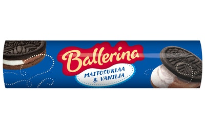 Ballerina 185g Maitosuklaa Vanilja