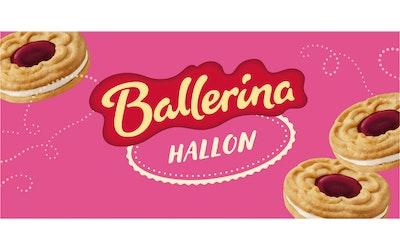 Kantolan Ballerina täytekeksi 380g vadelma