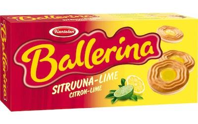 Kantolan Ballerina 380g Sitruuna-lime täytekeksi