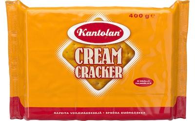 Kantolan Cream Cracker voileipäkeksi 400 g suolainen keksi