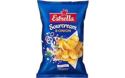 Estrella perunalastu 40g sourcream-onion