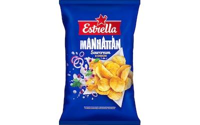 Estrella 275g Manhattan Sourcream & Onion Chips