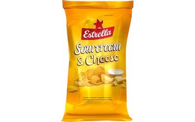 Estrella 275g Sourcream & Cheese Chips