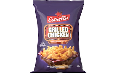 Estrella Grilled Chicken snacks 110g