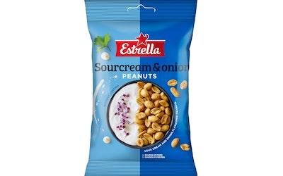 Estrella 140g Sourcream & Onion Peanuts