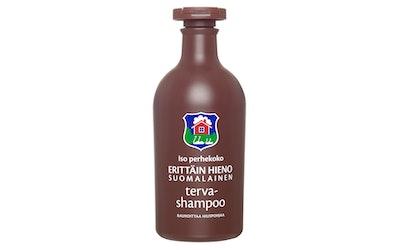 Erittäin Hieno Suomalainen shampoo 500ml Terva