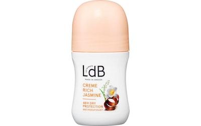 LdB antiperspirantti deo roll-on 60ml Creme Rich Jasmine 48h Dry Protection