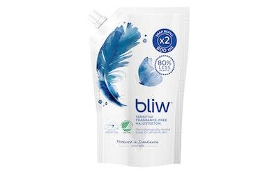 Bliw nestesaippua 600ml Sensitive täyttöpussi