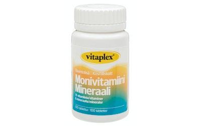 Vitaplex Monivitamiini & Mineraali 100 kpl