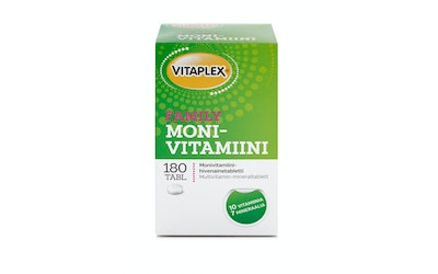 Vitaplex Monivitamiini 180tabl family