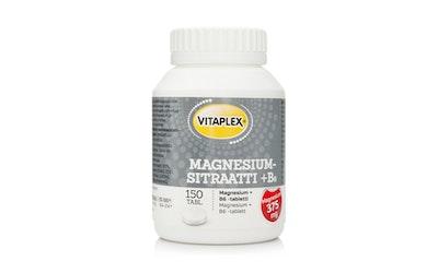 Vitaplex 150kpl Magnesiumsitraatti + B6 tabletti