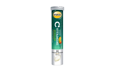 Vitaplex C-vitamiini pore 1000mg 20tabl mango