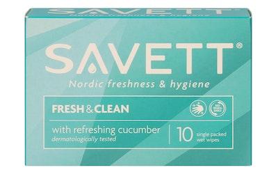 Savett fresh kosteuspyyhe 10kpl