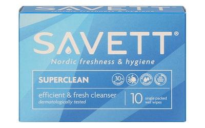 Savett kosteuspyyhe super clean 10kpl