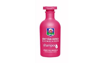 Erittäin Hieno Suomalainen Plus shampoo venhänalkioöljy ja omena 300ml