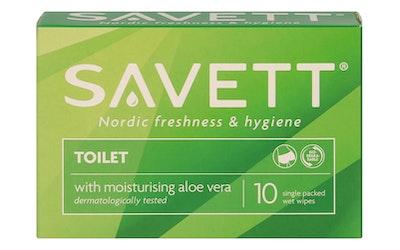 Savett 10kpl Toilet kosteuspyyhe