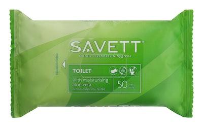 Savett kosteuspyyhe toilet 50kpl