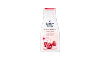 Family Fresh suihkusaippua 500ml Creamy Berry