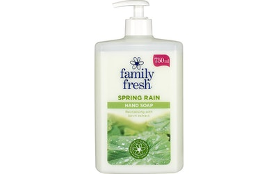 FamilyFresh nestesaippua 750ml SpringRain