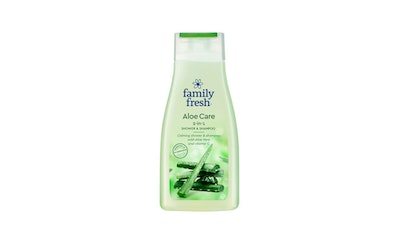 Family Fresh suihkushampoo 500ml Aloe Care