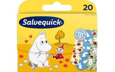 Salvequick 20kpl Muumi lastenlaastari 3 kokoa