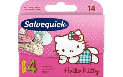 Salvequick 14kpl Hello Kitty lastenlaastari