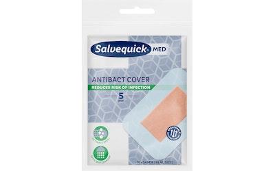Salvequick MED laastari 5kpl Antibact