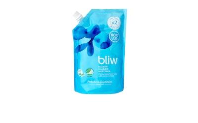 Bliw nestesaippua 600ml Mustikka täyttöpakkaus