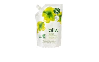 Bliw nestesaippua 600ml Valkovuokko täyttöpussi
