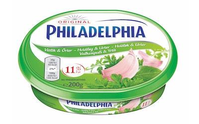Philadelphia Valkosipuli ja Yrtit 200g