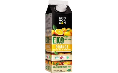 God Morgon® Luomu appelsiinitäysmehu 1 L