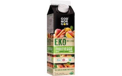 God Morgon luomu Fruitveggie 1L