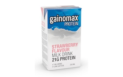 Gainomax 250ml protein drink mansikka