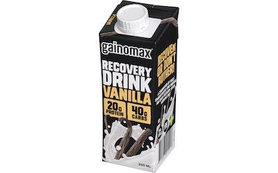 Gainomax recovery 250ml vanilja palautumisjuoma