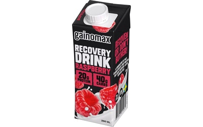Gainomax Recovery 250ml vadelma palautumisjuoma