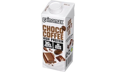 Gainomax High Protein Drink 250ml Choco Coffee