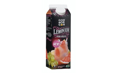 God Morgon 1L Pink Grape Lemonade