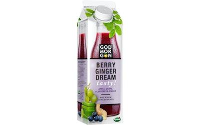 God Morgon Berry Ginger tasty mehu 1 l