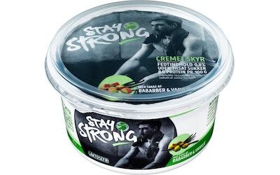 Stay Strong Skyr 500g raparperi-vanilja - kuva