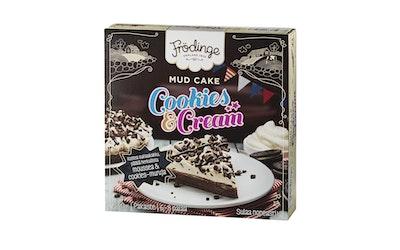 Frödinge mud cake cookies cream kostea suklaakakku 440g