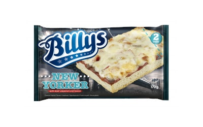 Billy's pan pizza new yorker 170g pakaste