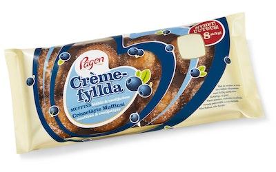 Pågen cremetäytemuffinsi 8kpl/240g mustikka vanilja