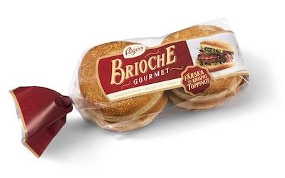 Pågen gourmet brioche hampurilaissämp 4kpl /320g