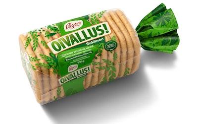 Pågen Oivallus rukiinen vehnäpalaleipä 15kpl/530g