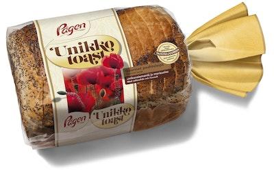 Pågen unikko toast vehnäpaahtoleipä 480g