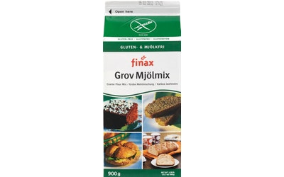 Finax Gluteeniton Karkea Jauhoseos 900g